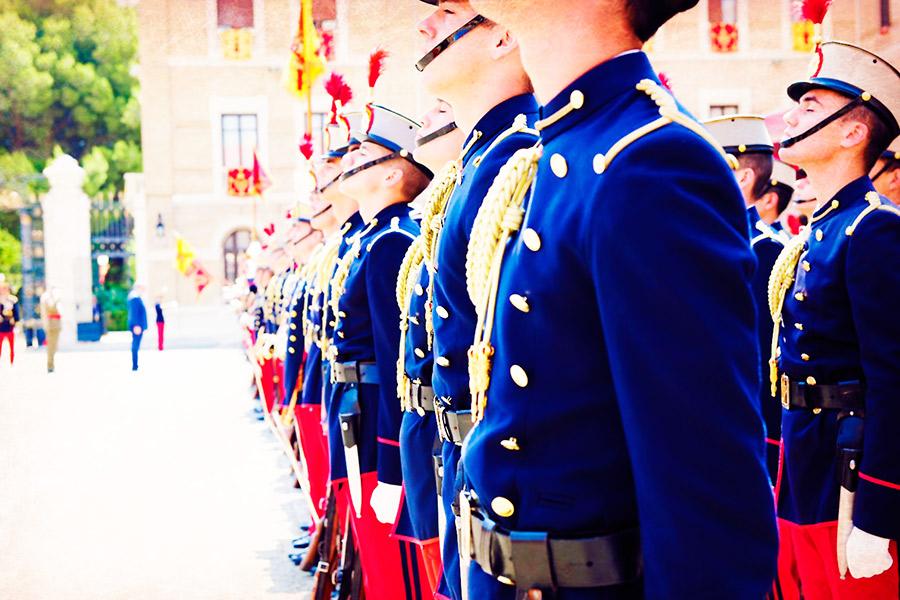 El ceremonial militar: El Protocolo de los valores sentidos