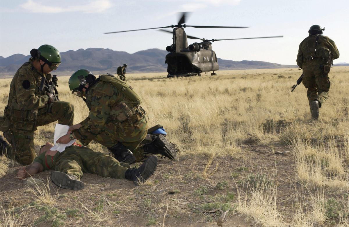 Inicio, Cuerpo Militar de Sanidad
